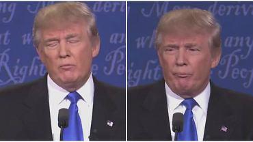 Donald Trump podczas debaty