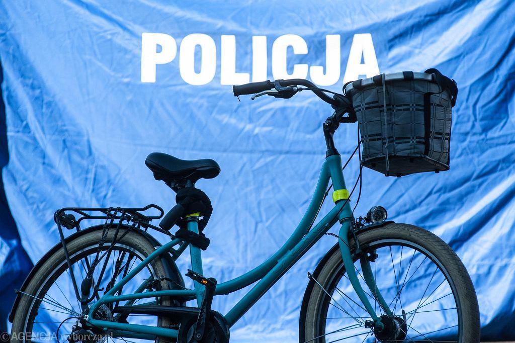 Wypadek rowerzystów [zdjęcie ilustracyjne]