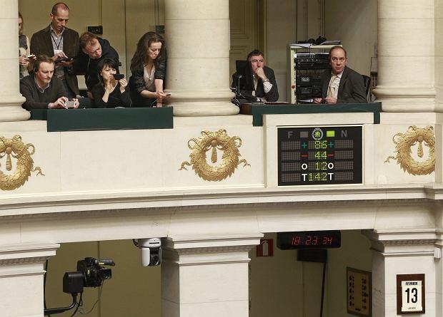 Belgijscy politycy podczas głosowania ws. eutanazji dzieci