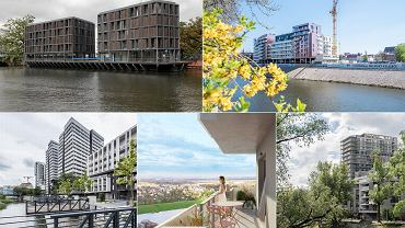 Mieszkania nad rzekami we Wrocławiu
