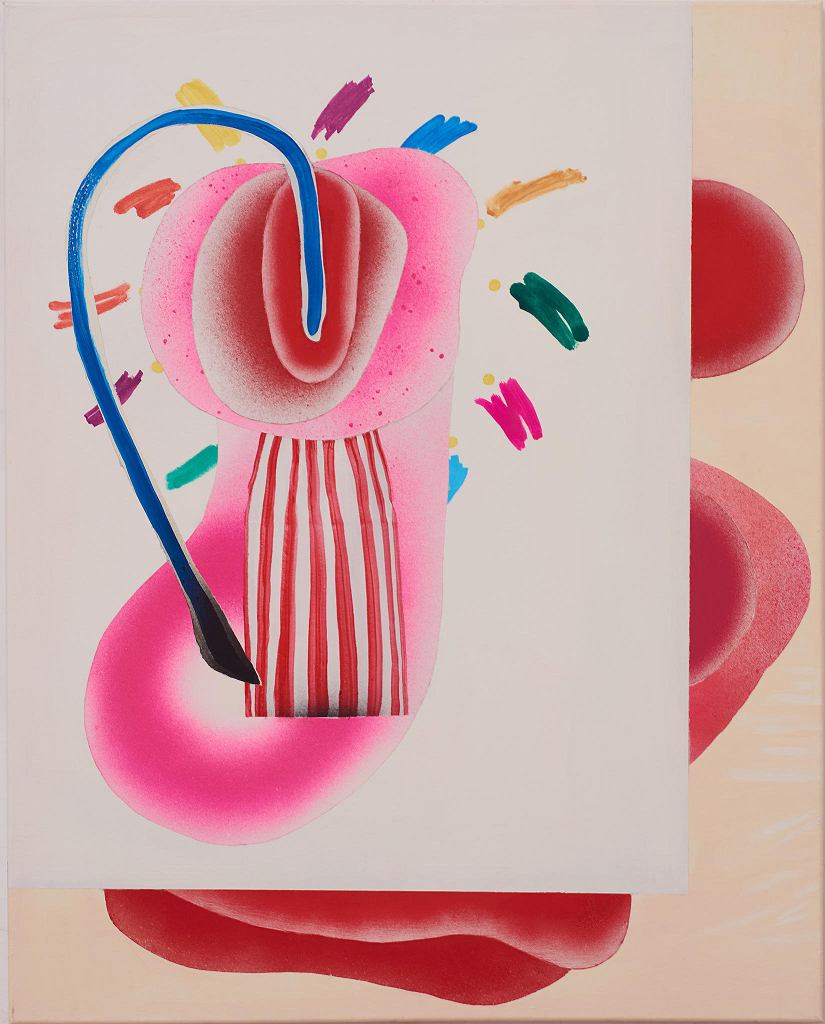 Praca Ivo Nikicia z wystawy 'Cyklodrony' prezentowanej w Galerii Nanazenit / NANAZENIT