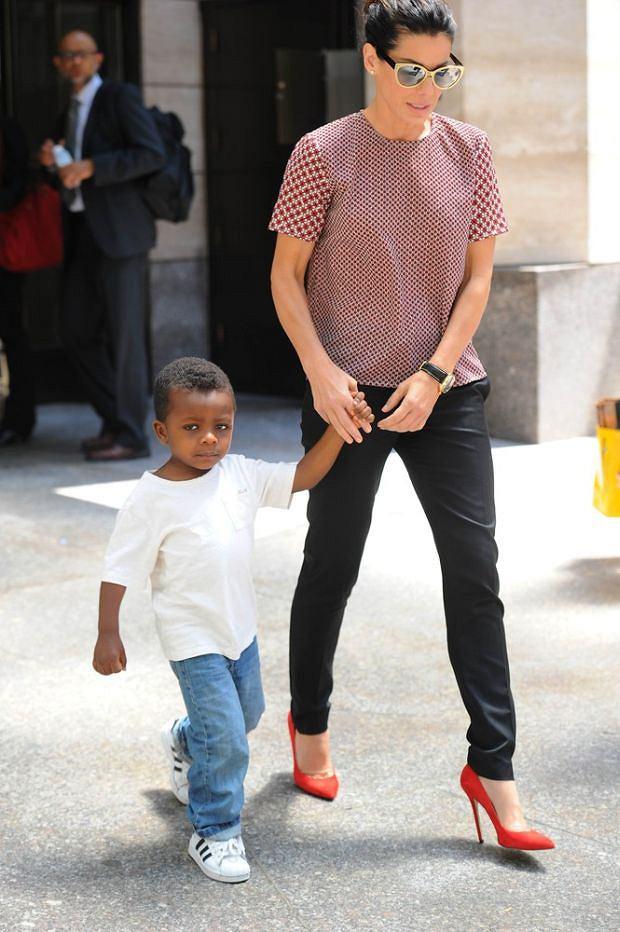 Sandra Bullock, syn, Louis
