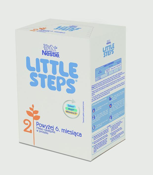 LITTLE STEPS 2. Nowe mleko następne dla zdrowego rozwoju dziecka