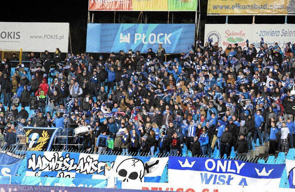 Ostatni mecz Wisły w Płocku z Miedzią Legnica (2:0) obejrzało z trybun ok. 2,5 tys. osób