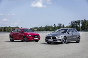 Mercedes A250e i B250e - hybrydowe kompakty ładowane z gniazdka