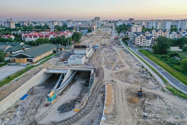 Trasa S2, Południowa Obwodnica Warszawy, tunel