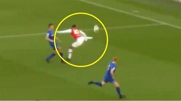 Piękny gol piłkarza Arsenalu do lat 23