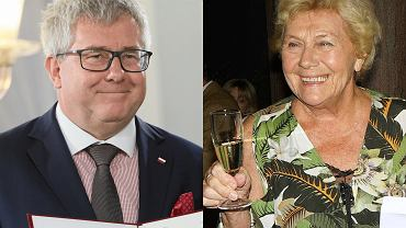 Ryszard Czarnecki i Teresa Lipowska