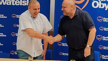 Grzegorz Schetyna i Jarosław Duda