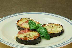 Minipizza z bakłażana na dwa hapsy