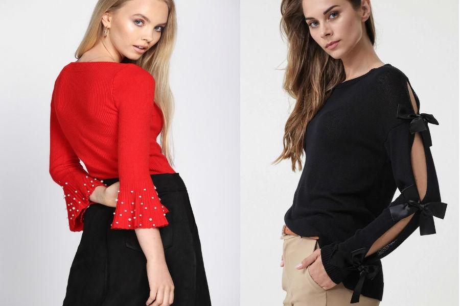Swetry damskie eleganckie