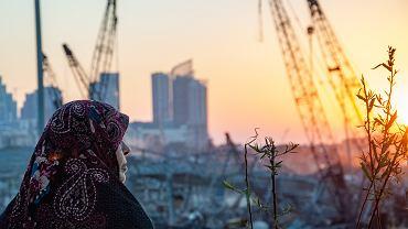 Bejrut zniszczony po wybuchu