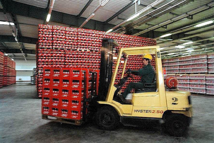 Rozlewnia Coca-Coli w Niepołomichach pod Krakowem