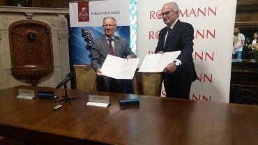 Rossmann i Politechnika Łódzka podpisują umowę o współpracy