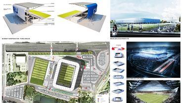 Opracowanie koncepcji budowy stadionu Ruchu Chorzów