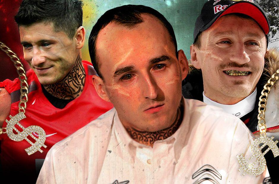 Zdjęcie numer 0 w galerii - Najsłynniejsi polscy sportowcy jako Popek. Jak wyglądaliby Radwańska, Małysz, Lewandowski?