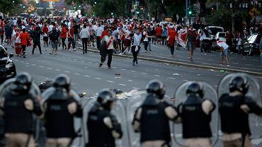 Ulice Buenos Aires przed finałem Copa Libertadores: River Plate - Boca Juniors. Argentyna, 24 listopada 2018