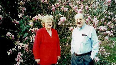 Paul Baran z żoną Evelyn. Rozdzieliła ich dopiero śmierć