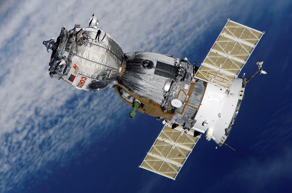 Pojazd kosmiczny Sojuz TMA-7 (zdjęcie ilustracyjne)