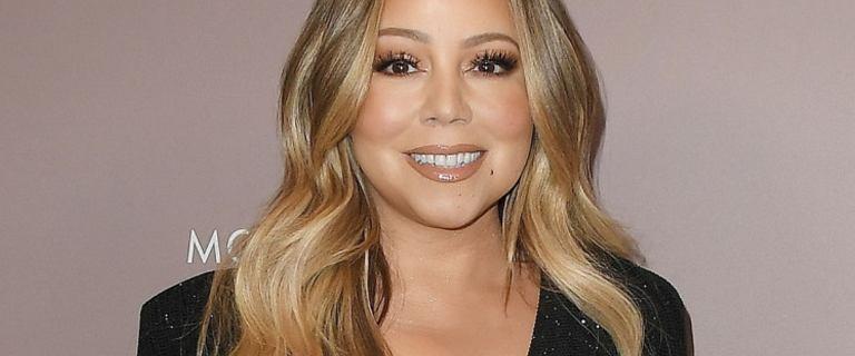 Mariah Carey jest w świetnej formie. W błyszczącej kreacji wyglądała obłędnie