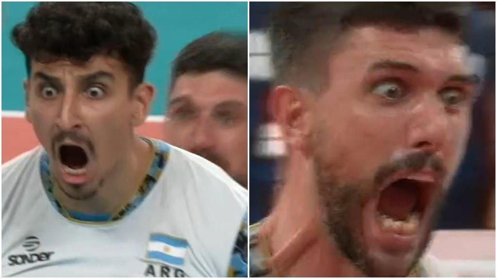 Argentyna - Włochy, IO Tokio, siatkówka