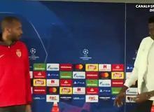 Liga Mistrzów. Thierry Henry upomniał piłkarza AS Monaco. Film hitem wśród kibiców [WIDEO]