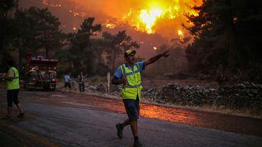Turcja walczy z pożarami