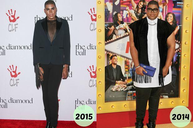 Zdjęcie numer 8 w galerii - Syn znanego koszykarza schudł 89 kg! Wymienił garderobę. Kozaki stały się jeszcze wyższe, a sukienki (!) jeszcze krótsze