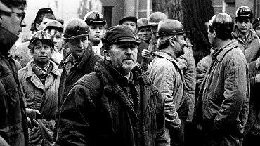 Kazimierz Kutz podczas kręcenia filmu 'Śmierć jak kromka chleba''
