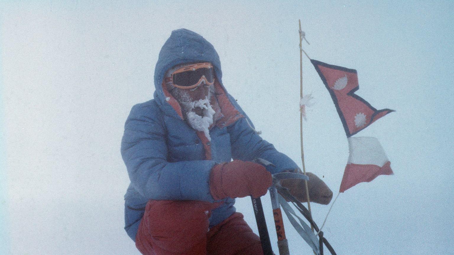 Jerzy Kukuczka zginął podczas wejścia na Lhotse w 1989 r.