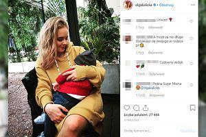 """Olga Kalicka ma problemy ze zdrowiem odkąd została mamą.""""Ostatnie miesiące były dla mnie bardzo trudne"""""""