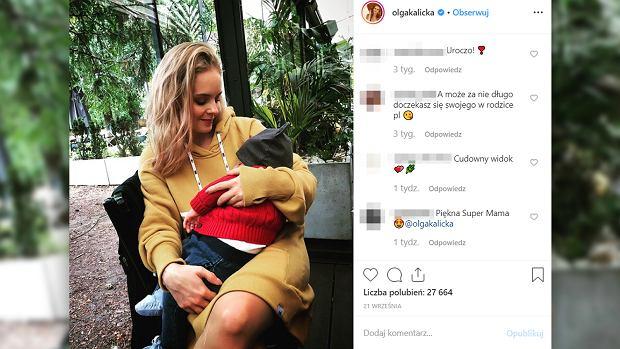 """Olga Kalicka ma problemy ze zdrowiem odkąd została mamą. """"Ostatnie miesiące były dla mnie bardzo trudne"""""""