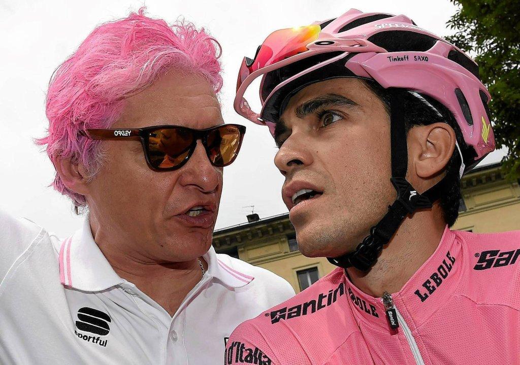 Oleg Tinkow i Alberto Contador