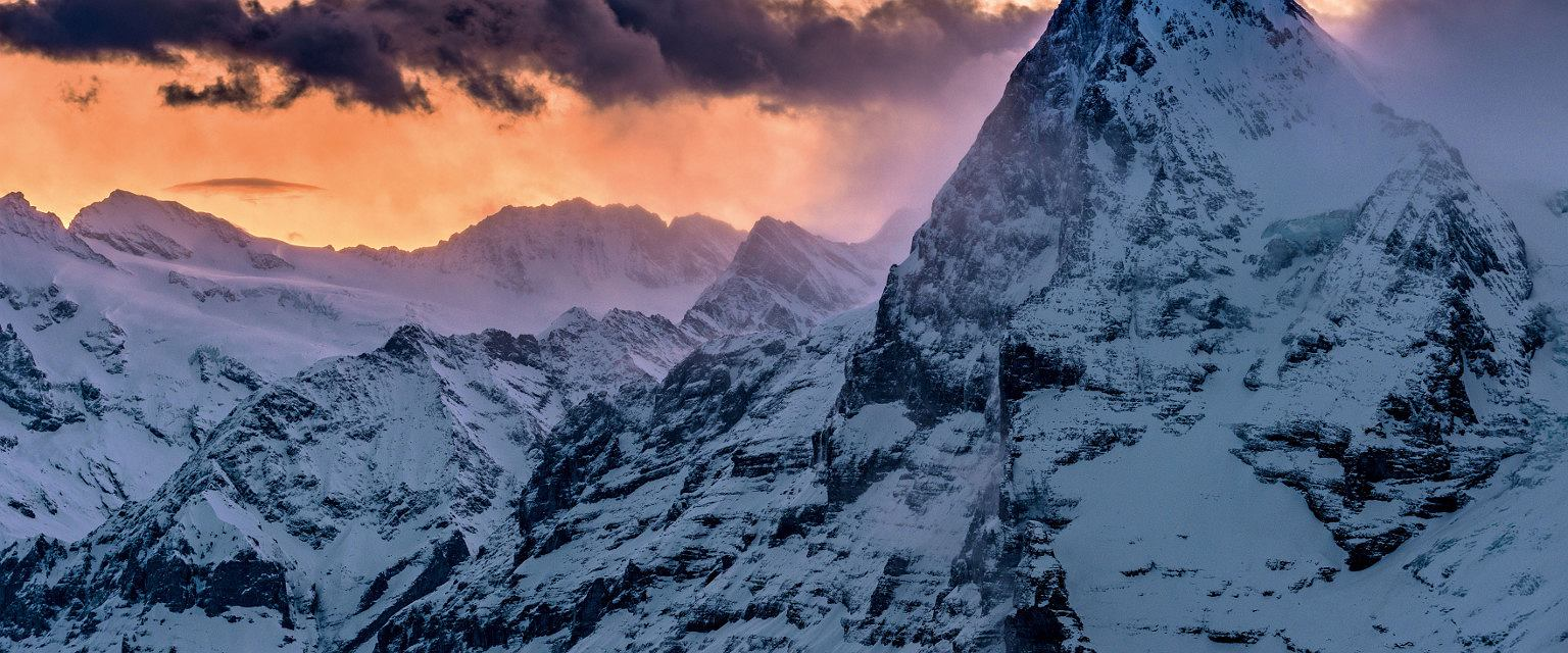 Widok na Eiger (fot. Switzerland Tourism - By-Line: swiss-image.ch /Martin Maegli)