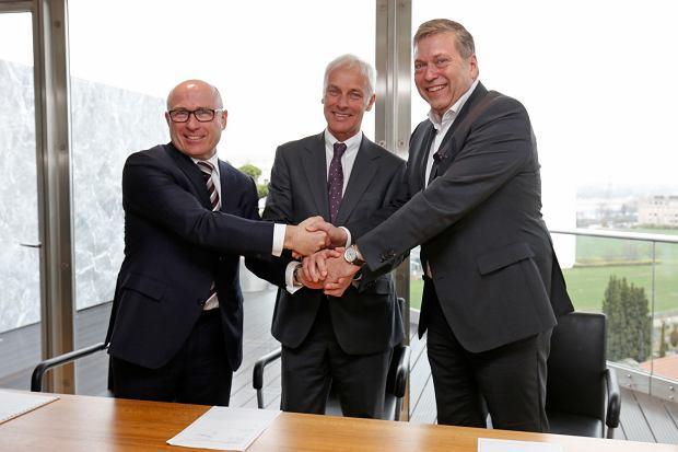 Przedstawiciele VW i Tata