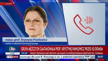 Krystyna Pawłowicz o 'ataku'