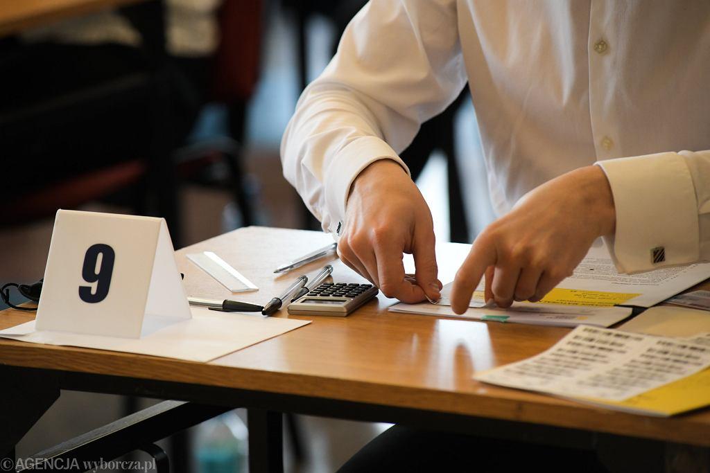 Matura poprawkowa 2021. Kiedy maturzyści poznają swoje wyniki? Gdzie je sprawdzić? (zdjęcie ilustracyjne)