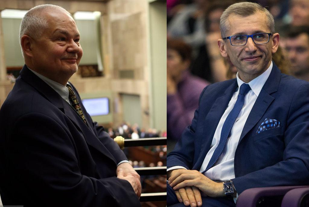 Adam Glapiński, szef NBP i Krzysztof Kwiatkowski, szef NIK
