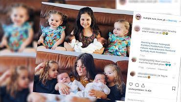 Urodziła dwa razy bliźnięta
