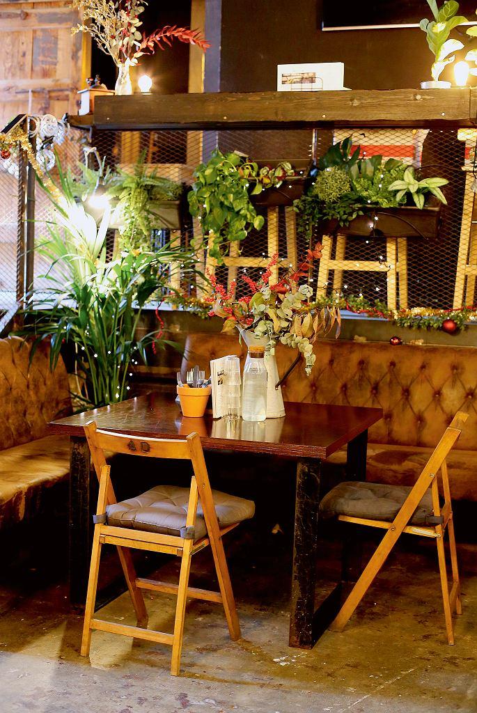 La Fabrica, wnętrze restauracji