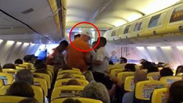 Prowodyr burdy na pokładzie Ryanaira