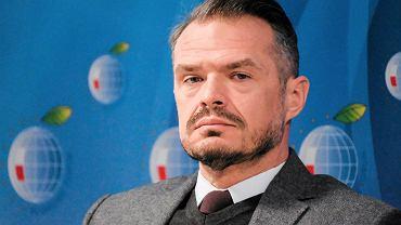 P. o. prezesa Ukravtodor Sławomir Nowak podczas X Forum Europa - Ukraina. Jasionka, 27 stycznia 2017
