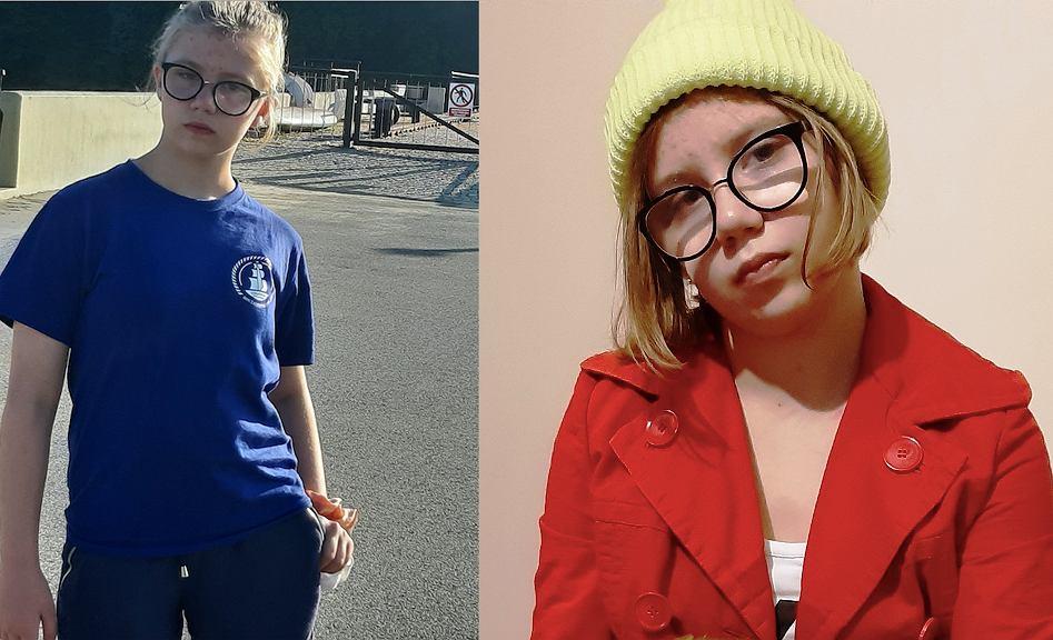 Wizerunek zaginionej Kingi Zadwornej, 11-letniej dziewczynki z woj. kujawsko-pomorskiego. Źródło: KPP w Świeciu (12.11.20)