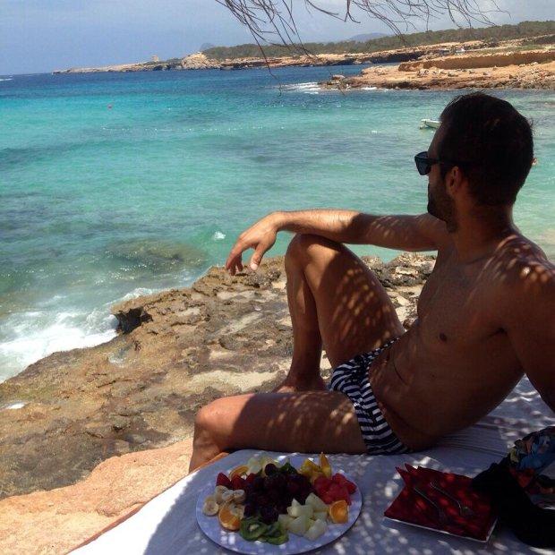 Pilkarze Slaska na wakacjach , Marco Paixao , Ibiza