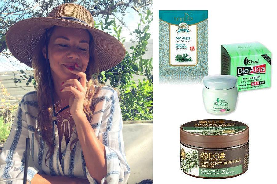 Kosmetyki w stylu Edyty Górniak - algi