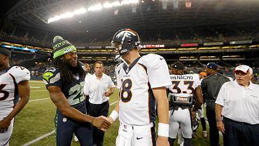 Futboliści Seahawks i Broncos