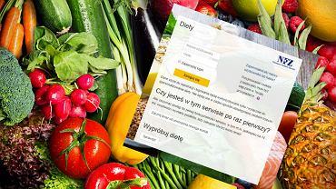 NFZ stworzył darmową platformę z dietami dla wszystkich. Co oferuje?