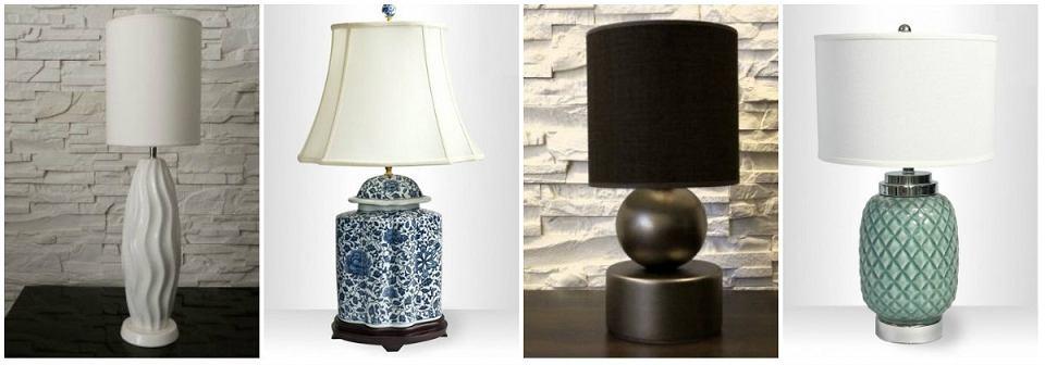 Ceramika w salonie - najpiękniejsze ceramiczne lampy.
