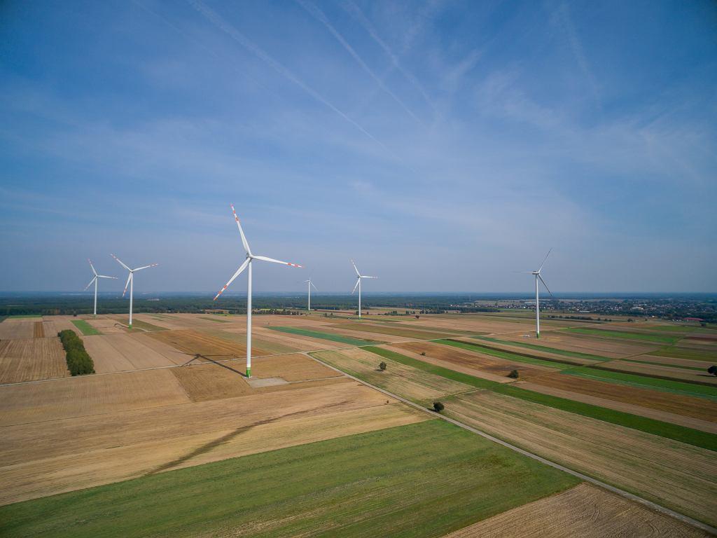 Lubartów - farmy wiatrowe
