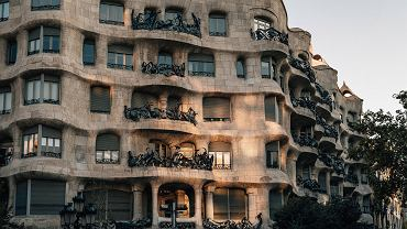 La Pedrera w Barcelonie.